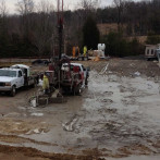 Geothermal Drill Truck
